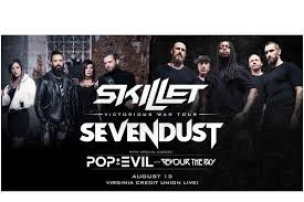 Skillet Sevendust To Rock Virginia Credit Union Live At