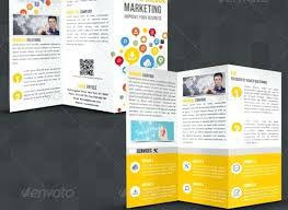 Marketing Brochure Templates Social Media Print Template Packages Brochure Marketing