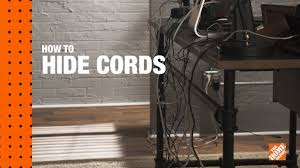 Office cable covers Office Small How To Hide Tv Wires On Wall Desk Cable Management Youtube How To Hide Tv Wires On Wall Desk Cable Management Youtube