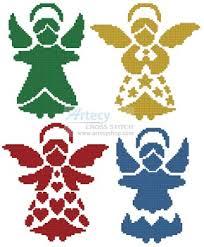 Angel Cross Stitch Patterns Gorgeous Artecy Cross Stitch Angel Silhouettes Cross Stitch Pattern To Print