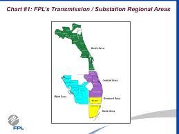 Fpl Chart Ppt Chart 1 Fpls Transmission Substation Regional