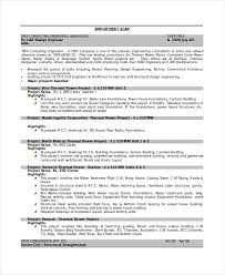 Civil Draftsman Resume