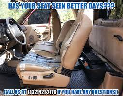 1998 2001 dodge ram 1500 slt laramie leather seat driver bottom tan