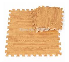 new 9 sqft wood interlock heavy duty foam floor puzzle work gym mat beige china