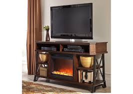 vinasville large tv stand w led fireplace insert