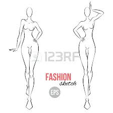 Body Template For Designing Clothes Person Outline Template New 7 Child Woman Awesome Body Drawing At