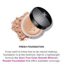 Avon Smooth Minerals Powder Foundation Light Beige True Color Smooth Minerals Powder Foundation In 2019