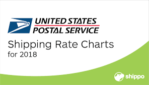 Stamp Price Chart Important Usps Shipping Rates For 2018 With Charts Shippo
