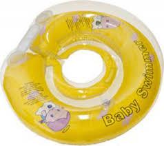 Купить <b>надувной круг Baby Swimmer</b>, 6-36 кг желтый (полуцвет) в ...