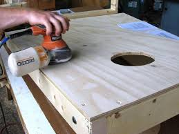 Wooden Corn Hole Game How to Build a Regulation Cornhole Set howtos DIY 15