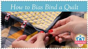 How to Bias Bind a Quilt! Kimberly Jolly's Easy Quilting Tutorial ... & How to Bias Bind a Quilt! Kimberly Jolly's Easy Quilting Tutorial for  Perfect Bias Binding - YouTube Adamdwight.com