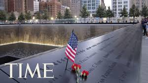 9 11 memorial ceremony in new york city on the 16th anniversary at world trade center site time