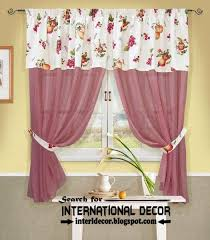 Pink Kitchen Curtains