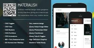 Material Design Templates Available For Download Free Jquery