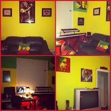 Music Decorations For Bedroom My Rasta Bob Marley Themed Room Room Painting Ideas Pinterest