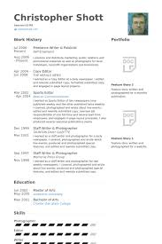 Freelance Writer & Publicist Resume samples