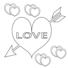 Valentines Day Printable Coloring Pagescute Printablechristian