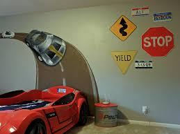 Boys Race Car Bedroom Ideas