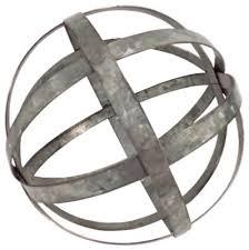 Decorative Metal Balls Metal Sphere Decor Home Decorating Ideas 14