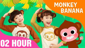 Monkey Banana Dance Baby Monkey 02 Hours Non Stop Songs For Children