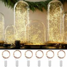 Cutting Micro Led String Lights Details About 100 Led Battery Micro Rice Wire Copper Fairy String Lights Party White Rgb Aj