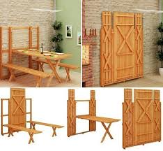 diy project fold up picnic table