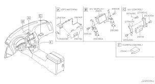 2007 infiniti fx35 oem parts infiniti usa estore audio visual 280 navigation no 1