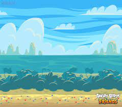 Maria Mustonen - Angry Birds Friends Backgrounds