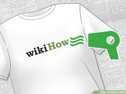 How To Design A Shirt With Paint 3 Ways To Paint A T Shirt Wikihow