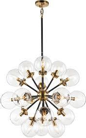 matteo c62818agcl soleil modern aged gold brass chandelier light loading zoom