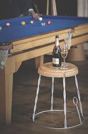 giant champagne cork wire cage side