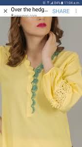Pakistani Shirts Gala Designs Kurti Pat Neck Designs For Suits Kurta Neck Design Kurti
