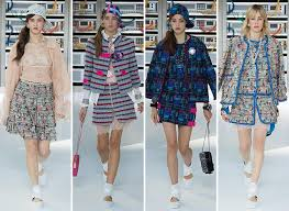 chanel 2017. chanel spring/ summer 2017 collection - paris fashion week