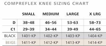 Compreflex Sizing Chart Details About Sigvaris Compreflex Knee