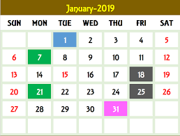 Calendar Template Monthly 2020 Excel Calendar Template Excel Calendar 2019 2020 Or Any Year