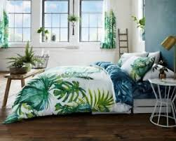 Tropical Leaf Luxury Reversible Duvet Quilt Cover Bedding Bed ... & Image is loading Tropical-Leaf-Luxury-Reversible-Duvet-Quilt-Cover-Bedding- Adamdwight.com