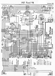 ford fairlane wiring diagram and electrical system schematic