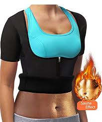 Funny City Womens Waist Trainer Corset Body Shapewear Sweat