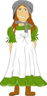pioneer girl clipart. pioneer woman clipart girl a