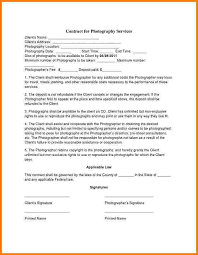 Photography Contracts. Wedding Photography Contract Photography ...