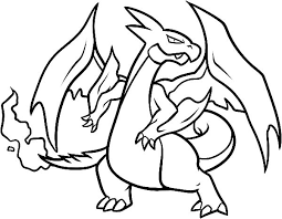Small Picture Pokemon Charizard Coloring Pages Awesome Coloring Pokemon