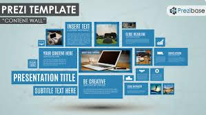 Content Wall Prezi Template | Prezibase