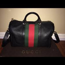 gucci vintage bags. gucci vintage web leather boston bag❗ ❗ retail: $1550 my price: $1200 condition: brand new/ perfect condition❗ - depop gucci vintage bags