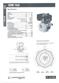 diesel engine lombardini license 15ld440 10 9 ps electric 1 > diameter 25 4 mm