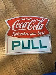 coca cola e push on front side