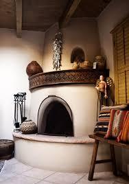 Southwest Fireplace Design Ideas Santa Fe New Mexico Kiva Fireplace Photograph By