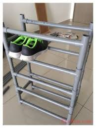 shoe furniture. pvc pipe shoe rack furniture h