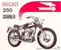 ducati 250 scrambler 1966
