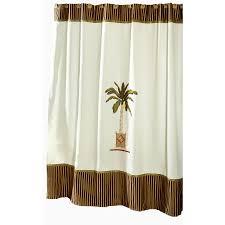 avanti banana palm polyester banana palm fl shower curtain 70 in x 72 in