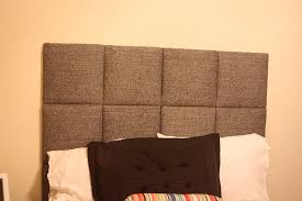 tutorial upholstered headboard squares